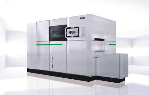 EOS P 500  The automation-ready manufacturing platform for laser sintering of plastic parts on an industrial scale