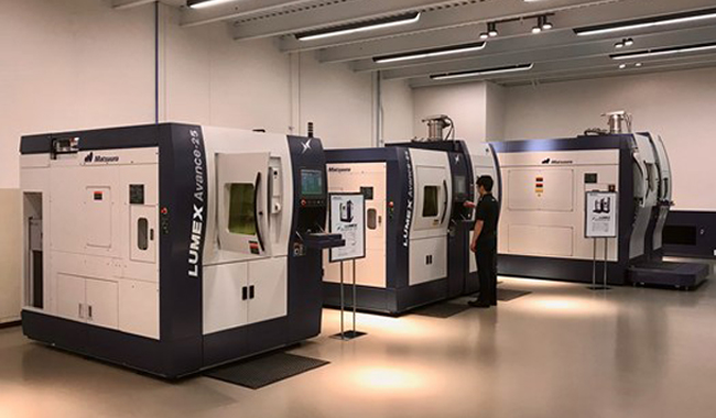 Hybrid Production, Not Just Prototyping, at Matsuura's New Additive